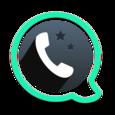 UppTalk Free Calls Text & Chat Icon