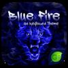 Blue Fire GO Keyboard Theme Icon
