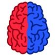 Left vs Right: Brain Training Icon