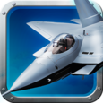 F22 Raptor Jet simulator 3D Icon