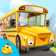 Wheels On Bus Kids Activities Icon