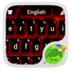 Red Keyboard Icon