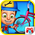 Kids Cycle Repairing Icon