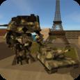 Tank Robot Icon