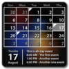 Calendar Widget: Month+Agenda Icon
