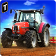 Farm Tractor Simulator 3D Icon
