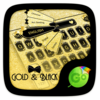 Gold & Black Keyboard Theme Icon