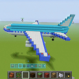 Ideas of Minecraft Airplane Icon