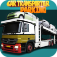 Car transporter parking game Icon
