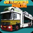 Car transporter parking game Icon