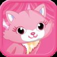 Pink Kitten DressUp Icon