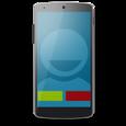 Full Screen Caller ID - BIG! Icon