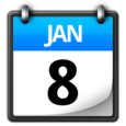 Smooth Calendar Icon