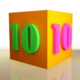 10 10 Block Icon