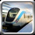 Metro Subway Train Simulation Icon