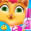 Kitty Fancy Nail Salon Shop Icon