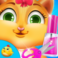 Kitty Fancy Nail Salon Shop Icon