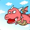 Dragon race : 2D Flight Racing Icon
