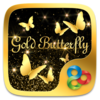 GoldButterflyGO Launcher Theme Icon