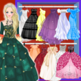 Doll Princess Prom Dress Up Icon