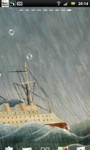 Thunderstorm Cruise Ship LWP