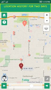 Family GPS locator Kid Control