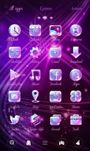 Twinkle GO Launcher Theme