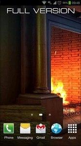 Fireplace 3D FREE lwp