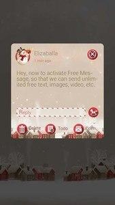 GO SMS PRO CHRISTMAS THEME