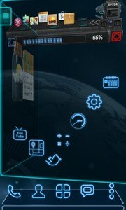 Future 3D Launcher & Locker