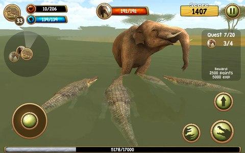 Wild Crocodile Simulator 3D