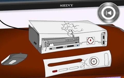 Destroy A Xbox 360.
