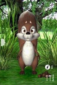 Talking James Squirrel
