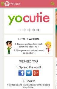 YoCutie ♥ 100% Free Dating App