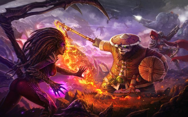Warcraft Heroes of the Storm