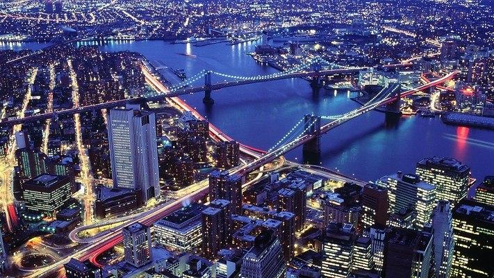 Brooklyn And Manhattan Bridges