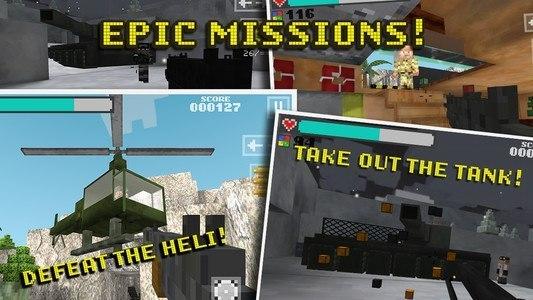 Block Gun 3D: Ghost Ops