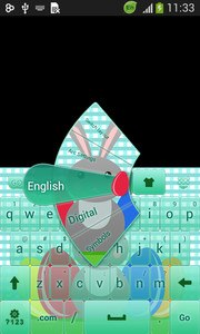 Easter Keyboard Theme