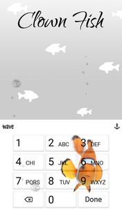 Clown Fish Animated Keyboard