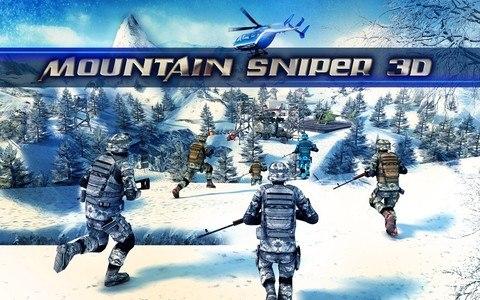 Mountain Sniper Killer 3D FPS