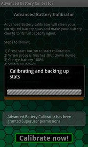 Advanced Battery Calibrator
