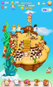 Hamster Islands - clicker game