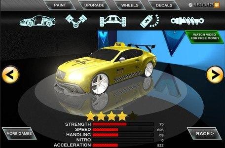 Modern Taxi Duty Driving 3D