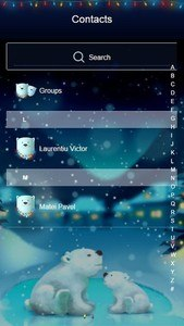 Snowy Teddybear GO SMS