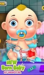 New Born Baby At Hospital