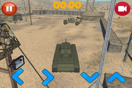 Battle Tank Driving