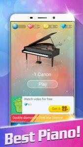 Magic White Piano: Music Tiles