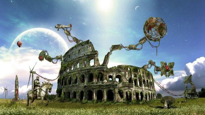 Colosseum Art