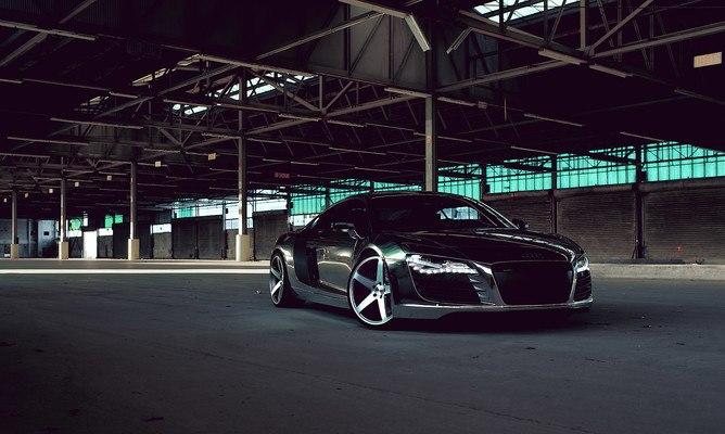Audi R8 Fast Car
