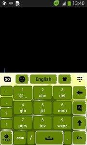 Green Electric Keyboard